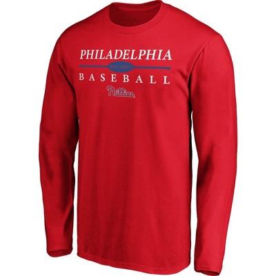 MLB Philadelphia Phillies Men's Long Sleeve Core T-Shirt