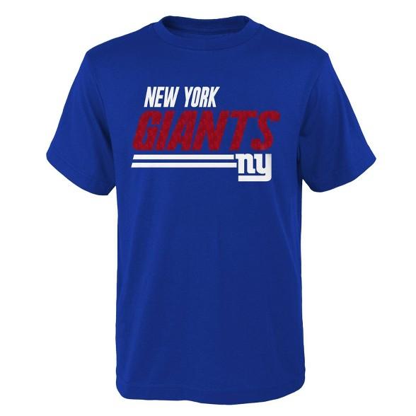 on sale aa190 64fed NFL New York Giants Boys' Great Fan T-Shirt