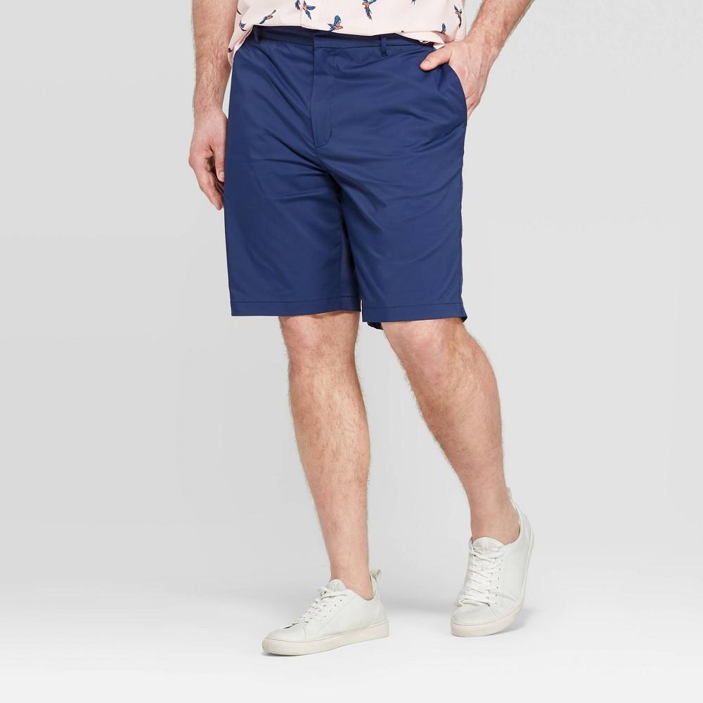 Men's Big & Tall 10.5 Chino Shorts - Goodfellow & Co Nighttime Blue 44