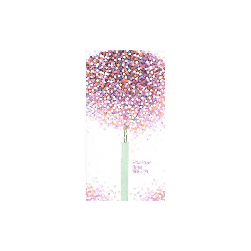 Lollipop Tree 2019-2020 2-Year Pocket Planner - (Paperback)