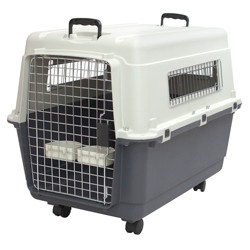 Kennel Direct Dog Crate - Gray