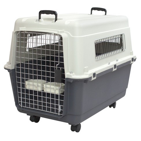 Kennel Direct Dog Crate - Gray - Large - image 1 of 3