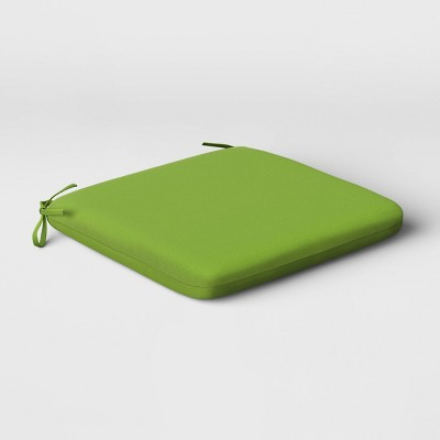 Outdoor Seat Cushion Green - Room Essentials™