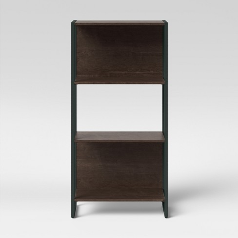 """51.3"""" Paulo 3 Shelf Bookcase Midtone Brown - Project 62™ - image 1 of 4"""