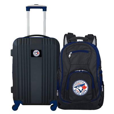 MLB Toronto Blue Jays 2 Pc Carry On Luggage Set