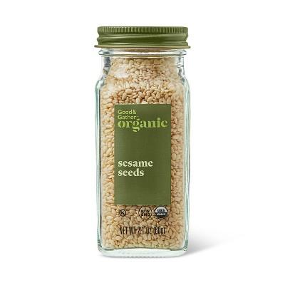 Organic Sesame Seeds  - 2.1oz - Good & Gather™