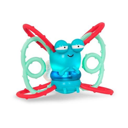B. toys Light-Up Firefly Teether Glowy Chews - Firefly Frank - image 1 of 3