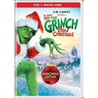 How The Grinch Stole Christmas (DVD + Digital) (Grinchman Edition)