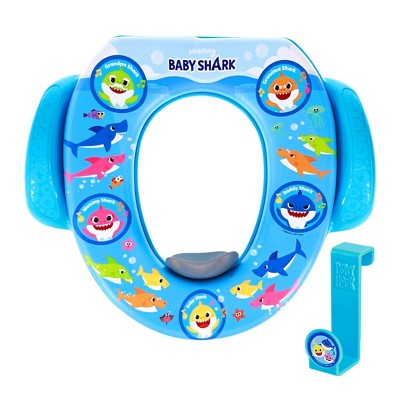 Pinkfong Baby Shark Fun at Sea Soft Potty Seat with Potty Hook