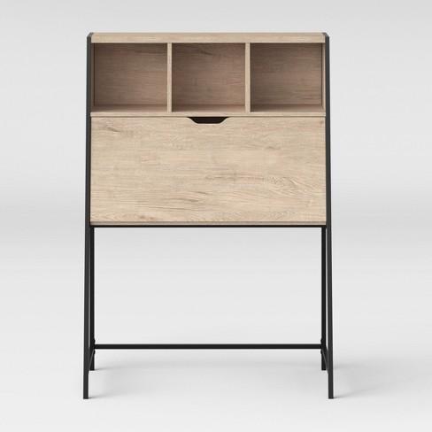 Vintage Secretary Desk >> Loring Secretary Desk Vintage Oak Project 62