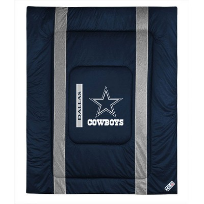 NFL Twin Comforter Sidelines Football Bed - Dallas Cowboys..