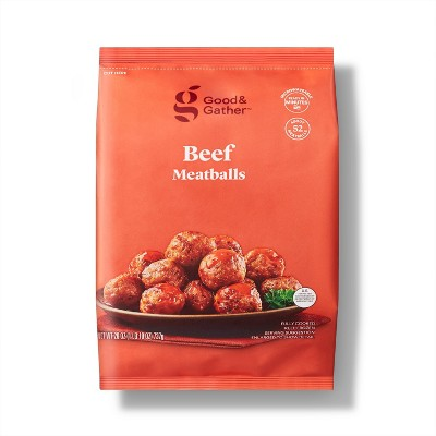 Beef Meatballs - Frozen - 26oz - Good & Gather™