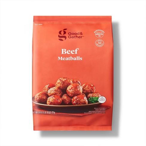 Beef Meatballs - Frozen - 26oz - Good & Gather™ - image 1 of 3