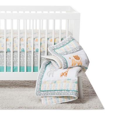 Trend Lab 6pc Crib Bedding Set - Lullaby Jungle