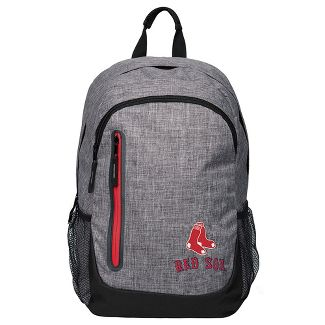 MLB Boston Red Sox Forever Collectibles - Heather Gray Bold Color Backpack