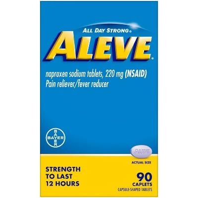 Aleve Acetaminophen Caplets (NSAID) - 90ct