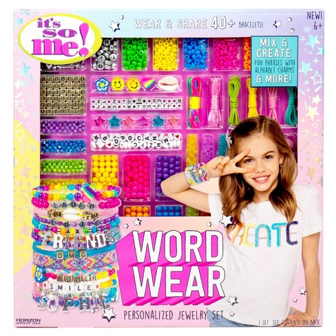 Word Wear Personalized Jewelry Making Set - It's So Me - image 1 of 4