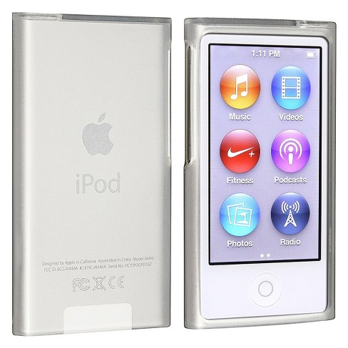 Insten Tpu Rubber Skin Case Compatible With Apple Ipod Nano 7th Generation Frost Clear White Target