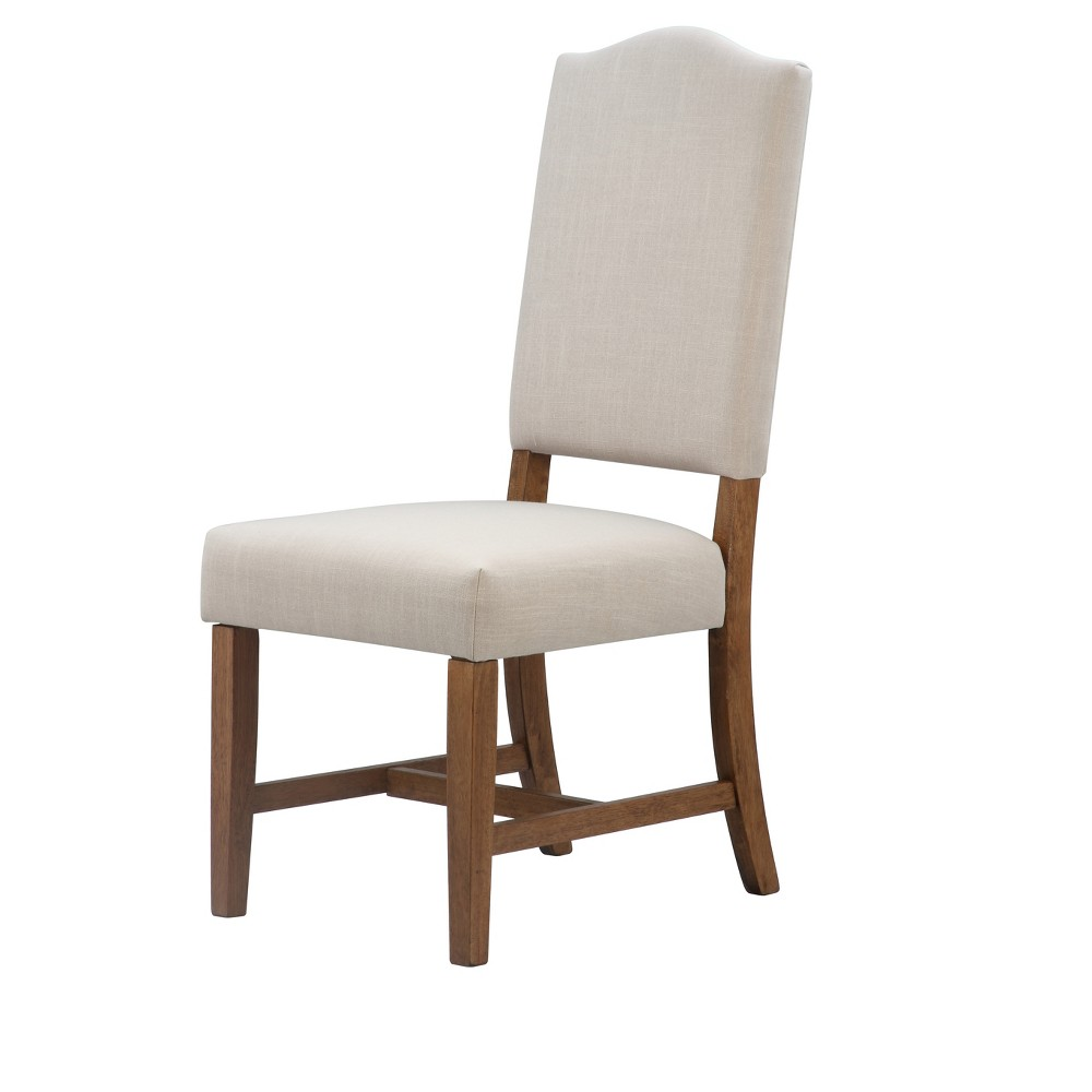 Scarlett Upholstered Chair - Pecan - International Concepts