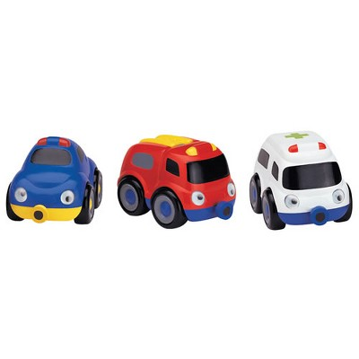 Small World Toys Emergency Tailgate Trio - Set of 3