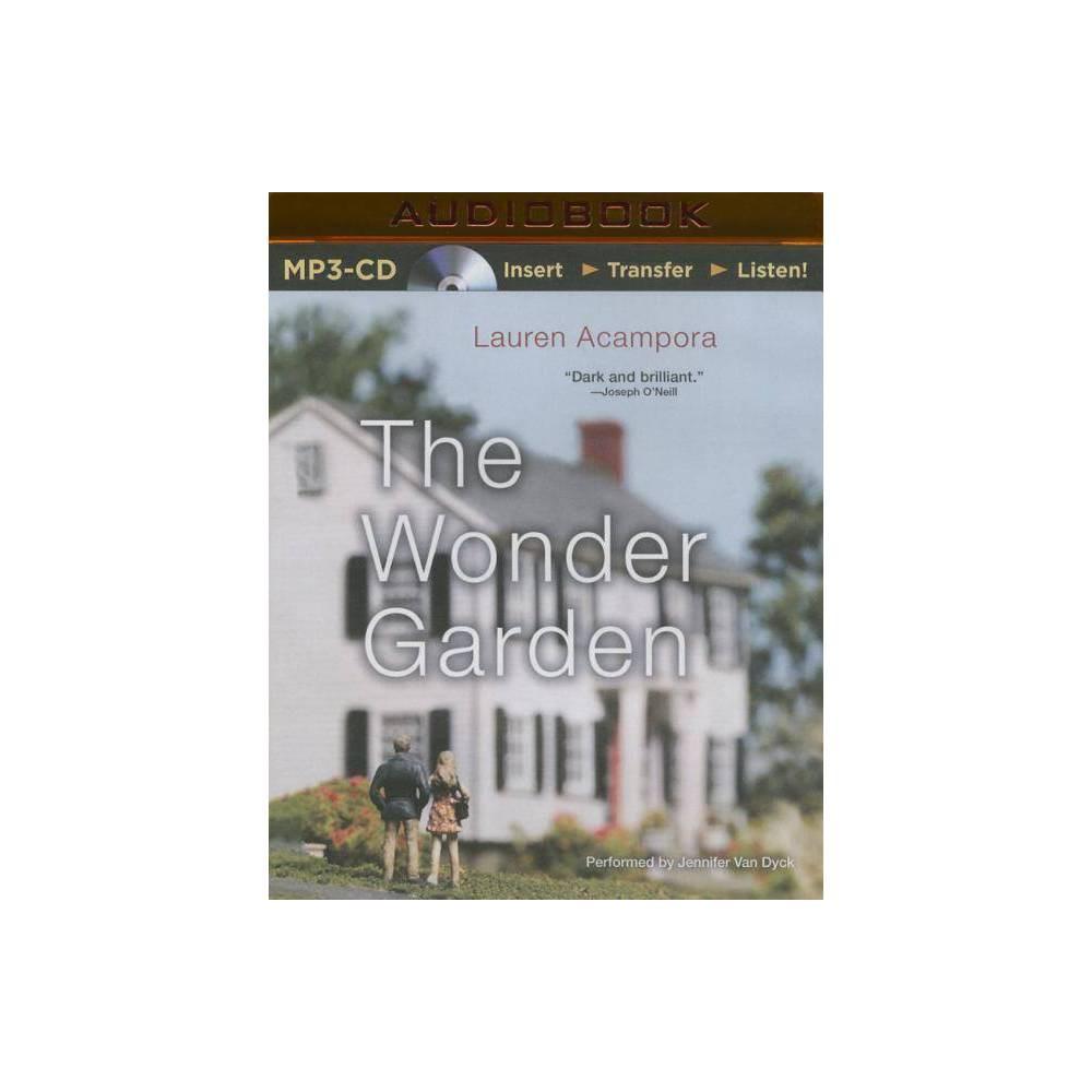 The Wonder Garden - by Lauren Acampora (AudioCD)