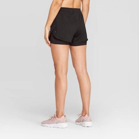 b4fb1956f7ea Women s Mid-rise Knit Layered Shorts 4