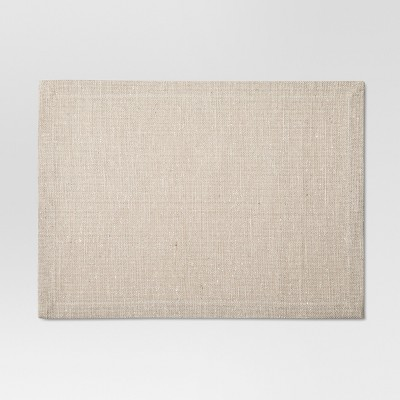 Silver Woven Jute Placemat - Threshold™