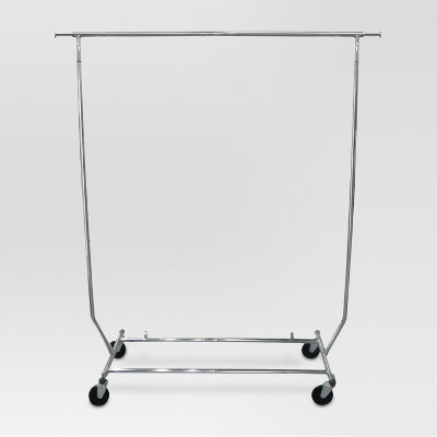 Foldable Garment Rack - Chrome - Threshold™