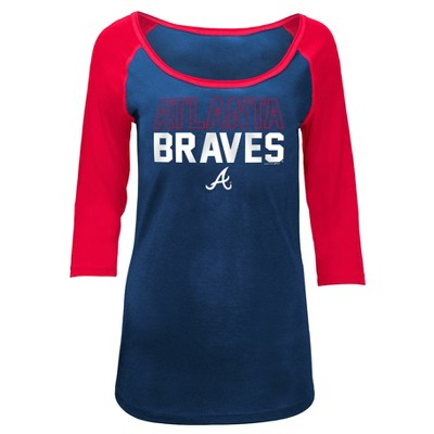 MLB Atlanta Braves Women's Play Ball Fashion Jersey