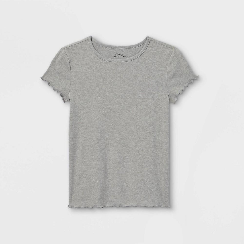 Girls 39 Short Sleeve T Shirt Art Class 8482 Gray Xxl