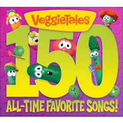 VeggieTales - 150 All-Time Favorite Songs! (CD)