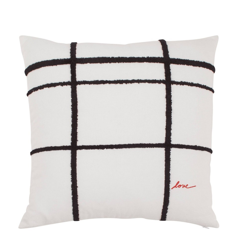 """Image of """"18"""""""" X 18"""""""" Riad 24 Throw Pillow Natural - ED by Ellen DeGeneres"""""""