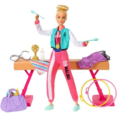 Barbie You Can Be Anything Gymnast Doll Playset