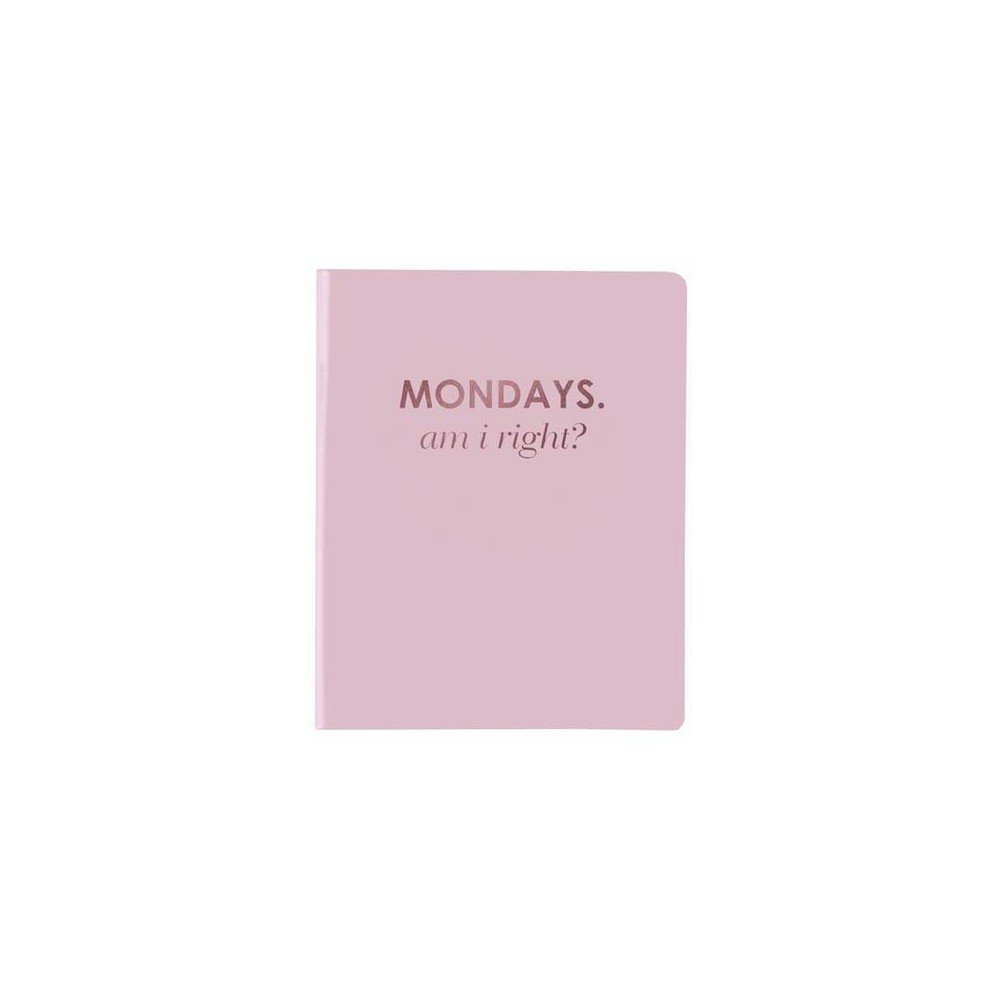 "Image of ""Lined Journal 6"""" x 8"""" PVC Mondays - Graphique"""
