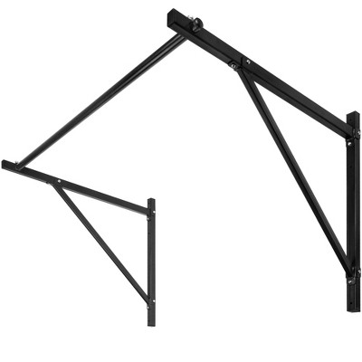 Best Choice Products 50in Wall-Mounted Home Gym Fitness Workout Pull Up Chin Up Bar w/ 500lbs Weight Capacity