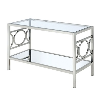 Nora Console Table Chrome - HOMES: Inside + Out