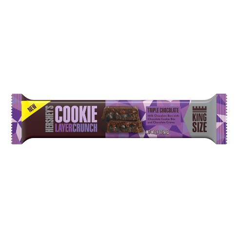 HERSHEY'S King Size Triple Chocolate Cookie Layer Crunch - 2.1oz - image 1 of 2