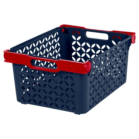 IRIS Large Cube Storage Basket - 8pk - image 1 of 3