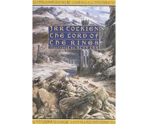 Lord of the Rings (Illustrated) (Hardcover) (J. R. R. Tolkien & Alan Lee) - image 1 of 1