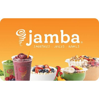Jamba Juice $20 (Email Delivery)