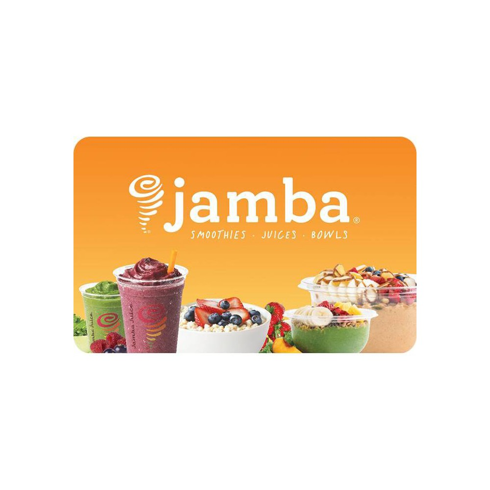 Jamba Juice Gift Card (Email Delivery) Jamba Juice Gift Card (Email Delivery)