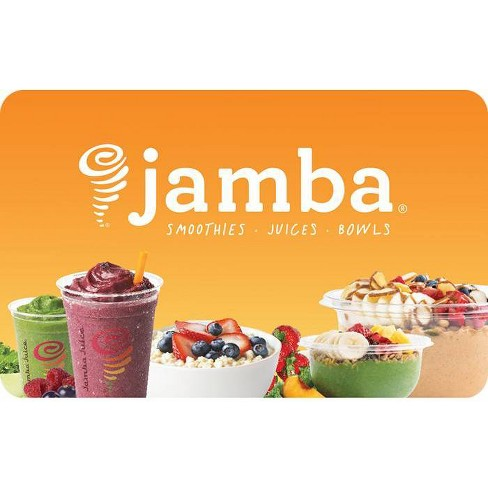 Jamba Juice $20 (Email Delivery) : Target