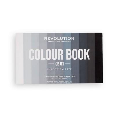 Makeup Revolution Colour Book Eyeshadow Palette - 0.96oz
