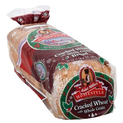 Aunt Millie's Cracked Wheat Bread - 24oz