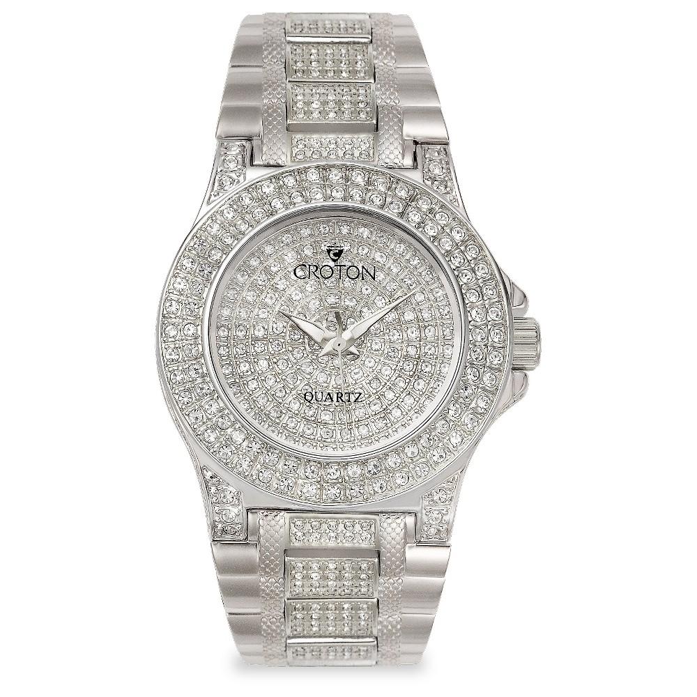 Croton Women's Wristwatch Brass - Silver