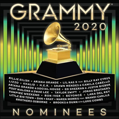 Various Artists - 2020 Grammy Nominees (CD) - image 1 of 1