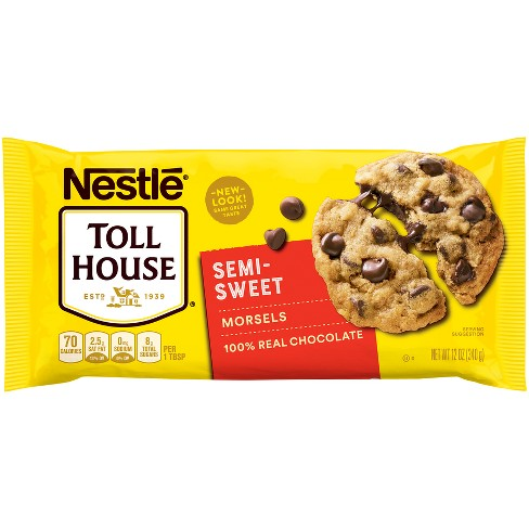 Nestle Toll House Semi-Sweet Chocolate Morsels - 12oz - image 1 of 4