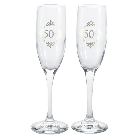 Golden Anniversary Flutes - image 1 of 1