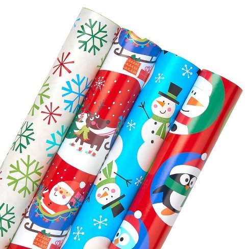 4ct american greetings reversible gift wrap redwhitegreen 160 sq about this item m4hsunfo