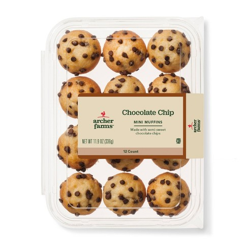 Chocolate Chip Mini Muffins - 12ct - Archer Farms™ - image 1 of 1